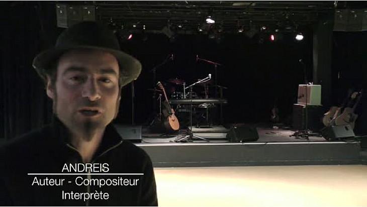 Interview ANDRÈÏS #artiste #chanteurengagé @tvsurerdre
