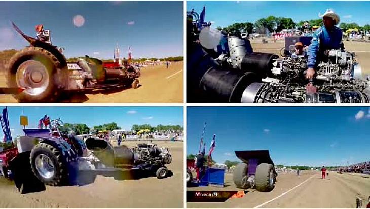 Interview Laurent Buisson : C'est quoi le Tracteur Pulling ?