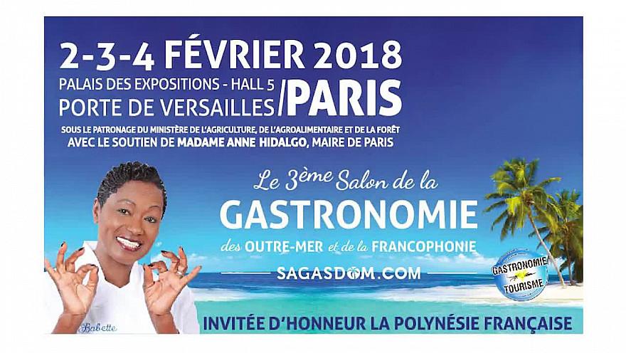 Babette de Rozières vous invite à découvrir le Salon de la Gastronomie d'Outre-mer #babettederozieres #salondelagastronomiedoutremer
